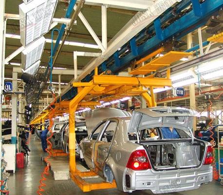 汽车生产线链条耐磨条